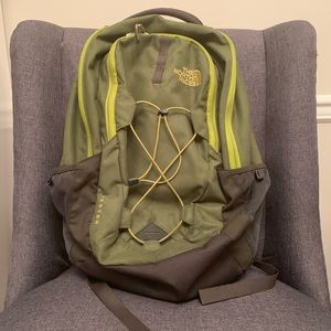 Green The North Face Backpack